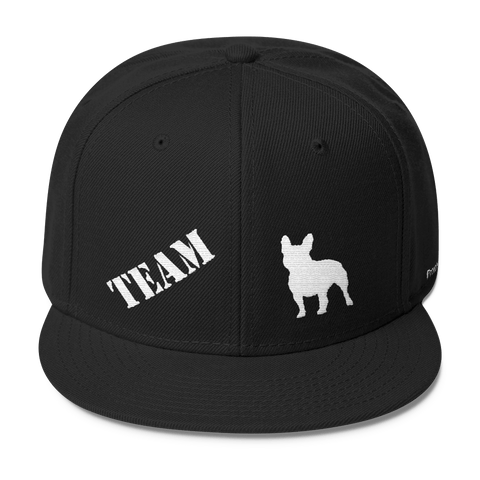 TEAM French Bulldog - Wool Blend Snapback