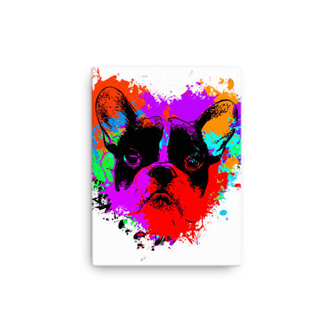 For The Love of Frenchie - Canvas