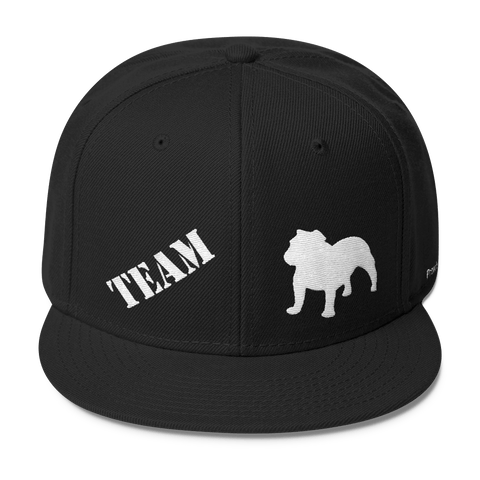 TEAM English Bulldog - Wool Blend Snapback