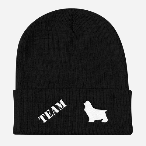 TEAM Cocker Spaniel - Cuffed Beanie Unisex