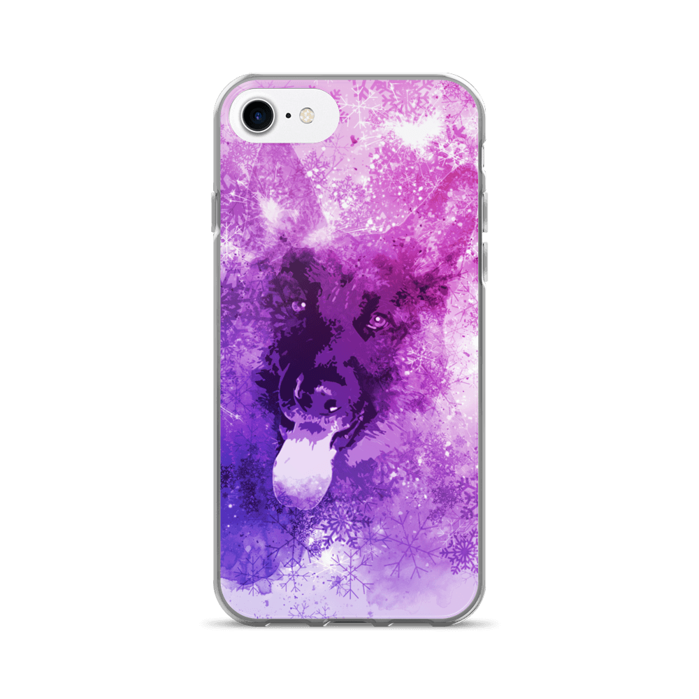 german shepherd christmas iphone 7 case
