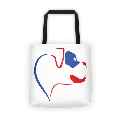 ProudlyPaw Boxer All-Over Tote bag