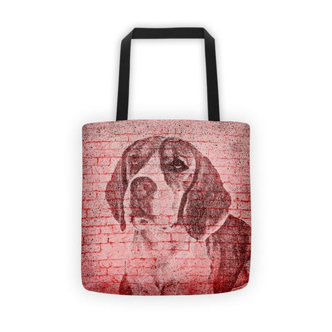 Beagle On Wall All-Over Tote bag