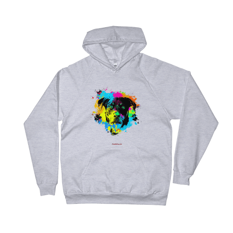 Rottweiler Colorful Paint - Pullover Hoodie