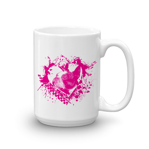 Boston Terrier LOVE - 15oz Mug