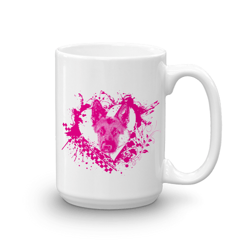 German Shepherd LOVE - 15oz Mug