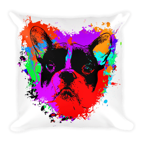 For The Love of Frenchie - Decorative Pillow