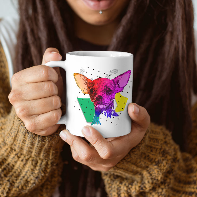 You love dogs and coffee ?