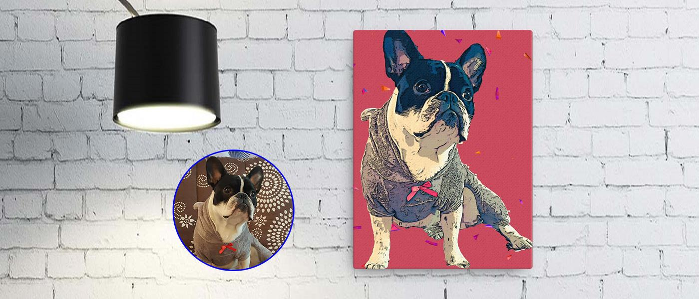Custom Art Design<br/>of Your Pet