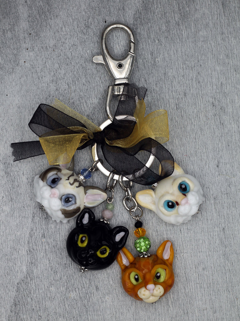 Kitties bag accessories