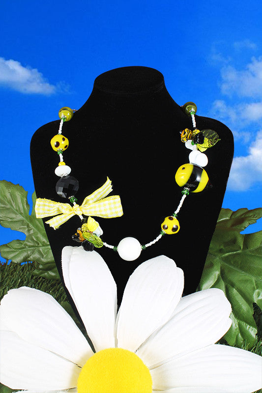 "Bee ""Pappa reale"" necklace"