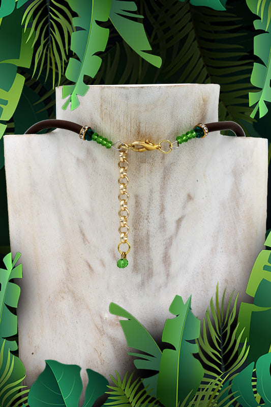 "Croc ""Palude"" Necklace"