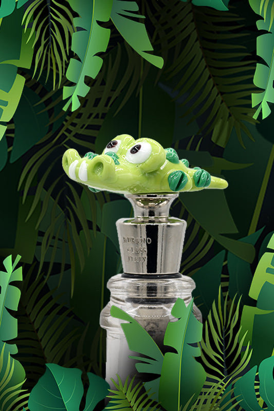 Croc winestopper