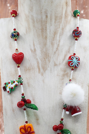 "Christmas ""Babbo Natale"" necklace"