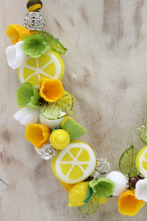 "Lemon ""Amalfi"" necklace"