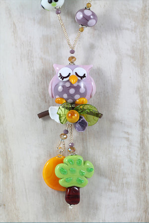 "Owl ""Sogni d'oro"" necklace"