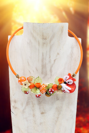 "Fox ""Furbizia"" Necklace"