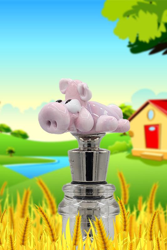 Pig winestopper