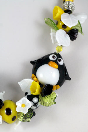 "Penguin ""Igloo"" necklace"