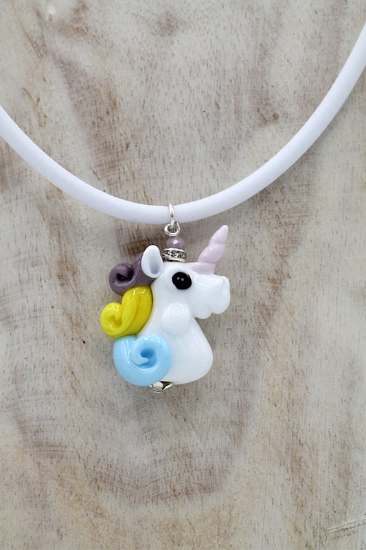 Unicorn small pendant