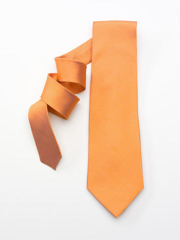 Tangerine Textured Solid