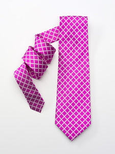 Fuchsia Checkered Pattern