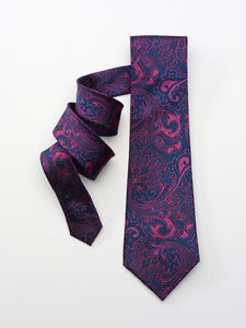 Purple and Fuchsia Paisley