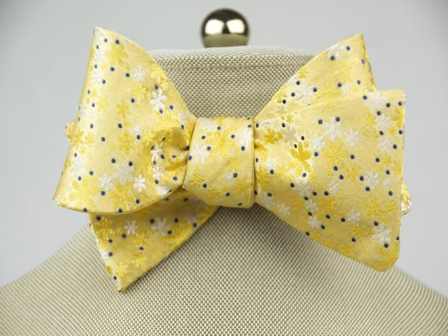 Sunshine Textured Bow Tie