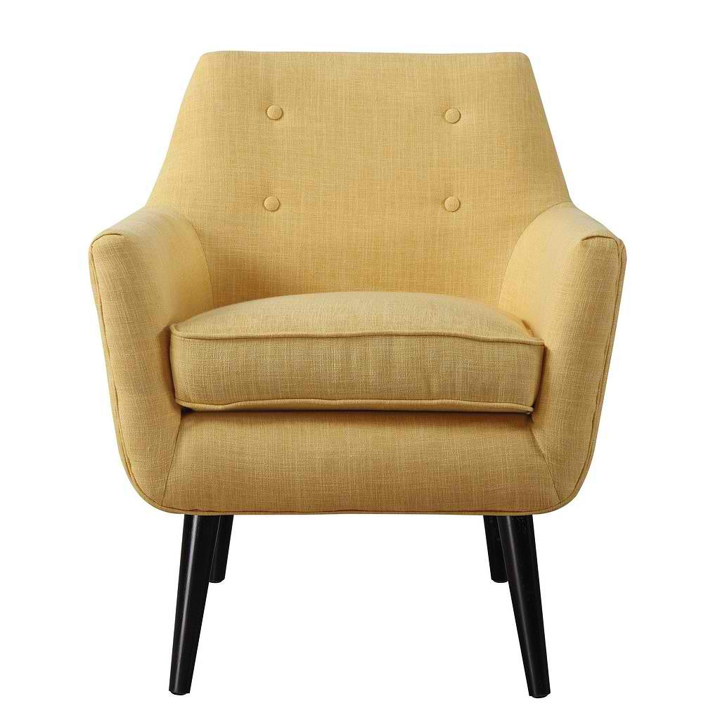 Mustard Yellow Furniture. Clyde Mustard Yellow Linen Chair Furniture