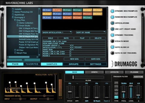 DrumSample com's Top 5 Drum Replacement Plug-Ins for your DAW
