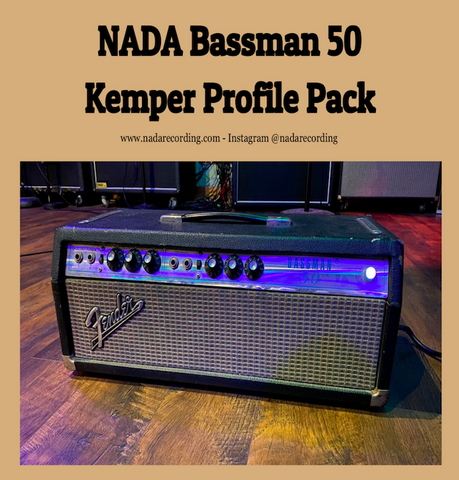 NADA Bassman 50 Purple Jewel KEMPER PROFILE PACK