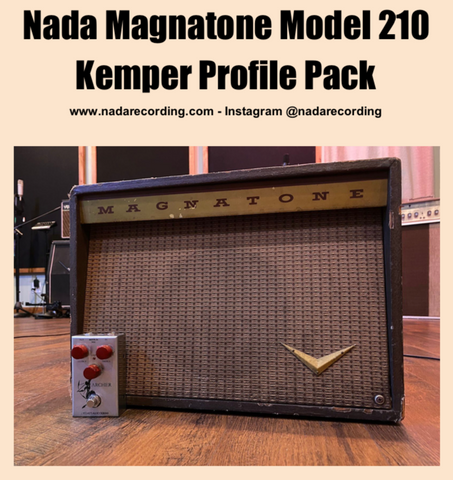 (FREE) NADA Magnatone Model 210 Kemper Profile Pack