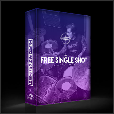 FREE DOWNLOAD - DrumSamples.com Free Single Shot Sample Pack