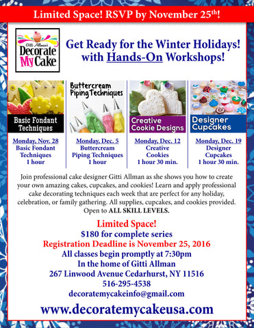 Winter Holiday Hands-On Workshop! - Five Towns