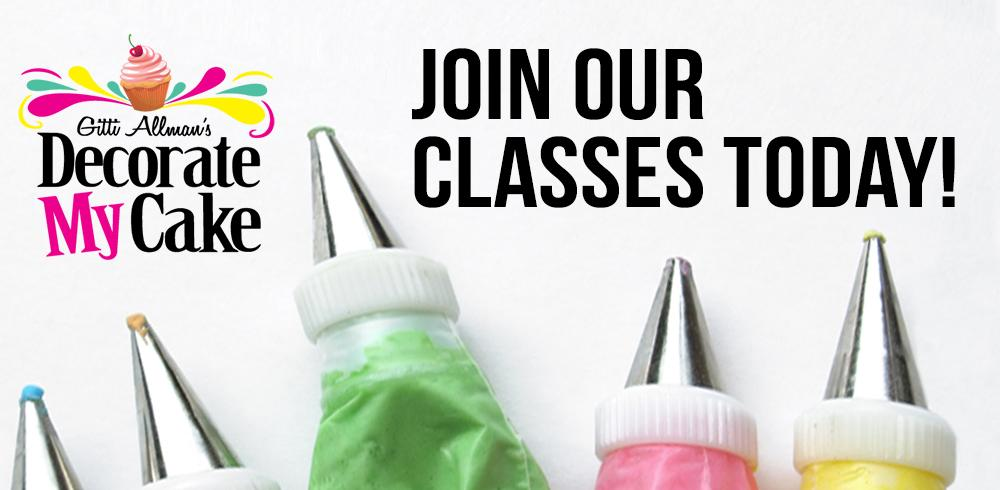 Cake Decorating Schools Usa : Decorate My Cake Classes and Cake Supplies   Decorate My ...