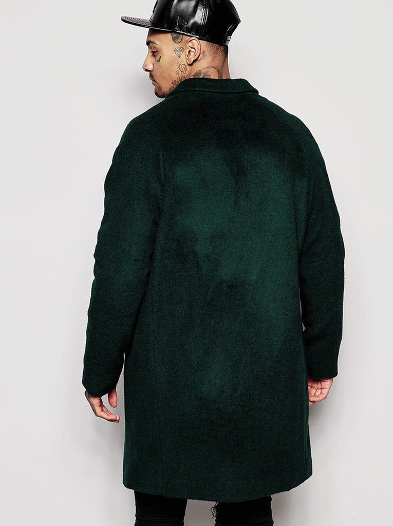 Wool Rich Overcoat