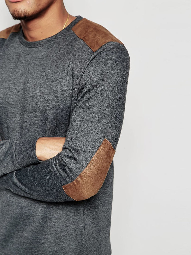 Sweatshirt in Charcoal