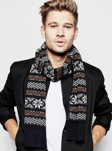 Winter Men Scarf