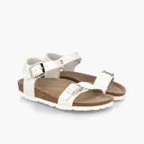 Prato Kids Metallic White