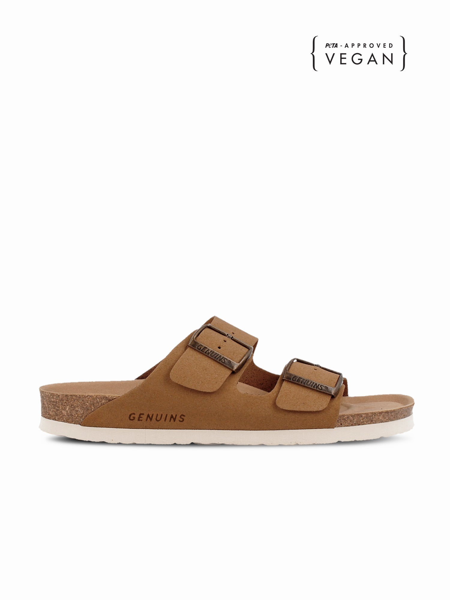 Hawaii Vegan Suede Camel