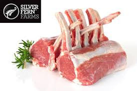 Silver Fern Lamb Rack cap - off (New Zealand) - 1 KG. - easymeat