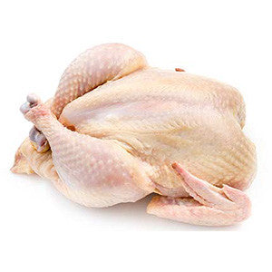 Fresh whole chicken with skin - easy meat home delivery pune