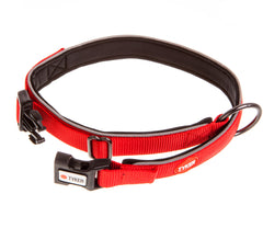 red reflective dog collar