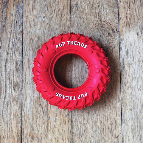 tyre dog chew toy