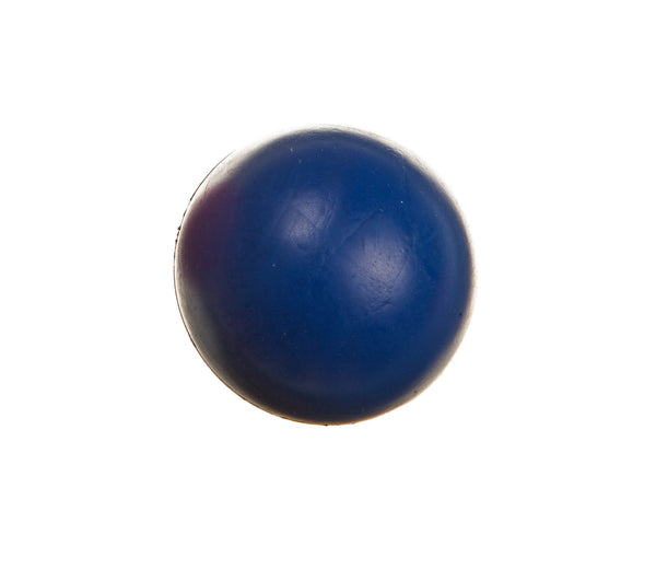 blue classic rubber dog ball chew toy