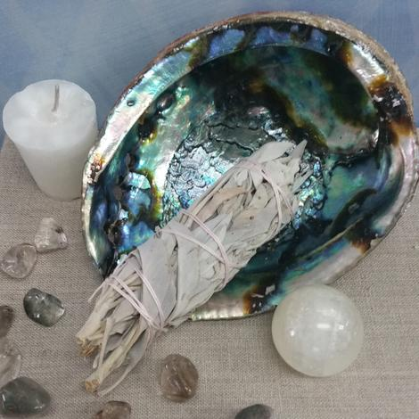 Sage Smudging to cleanse your home or space by Goddess I AM in Naples Florida