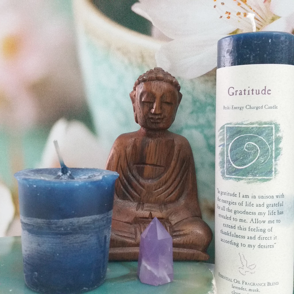 Crystal Journey Reiki Candles - Goddess I AM