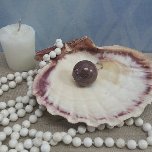 Mermaid Shell Smudge Bowl - Goddess I AM
