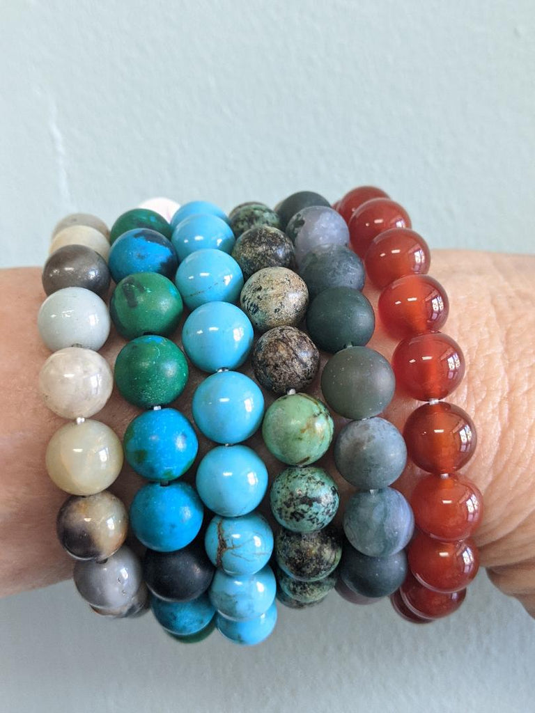 8mm Healing Gemstone Bracelets - Goddess I AM