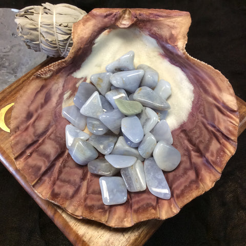 Blue Lace Agate - Goddess I AM